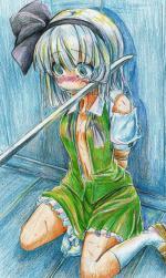 ロリ4・恐怖・おもらし、切り傷ー流血、脅し