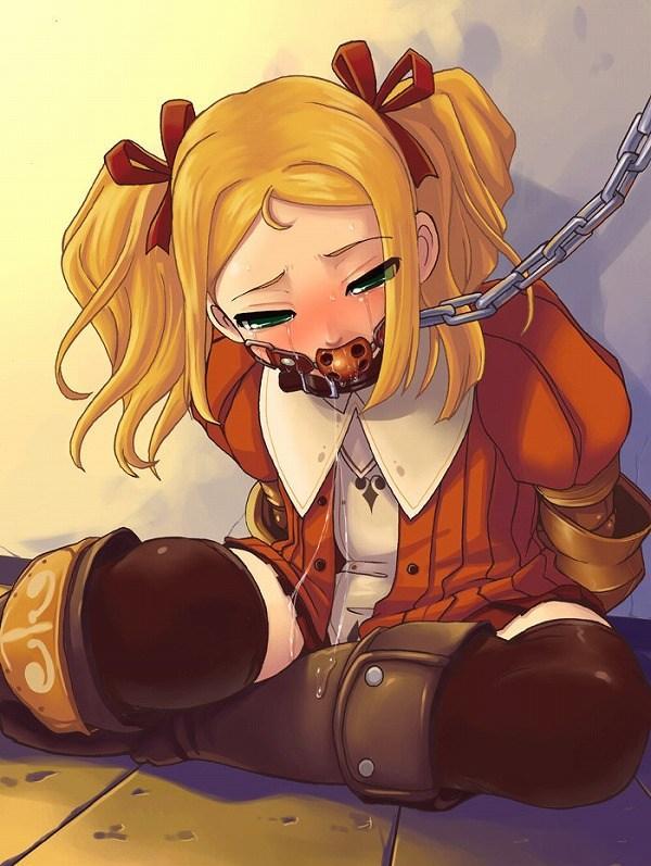 拉致監禁・・赤紐リボンー髪結ぶ・DID、口枷ーボールギャグ、首輪ー鎖リード