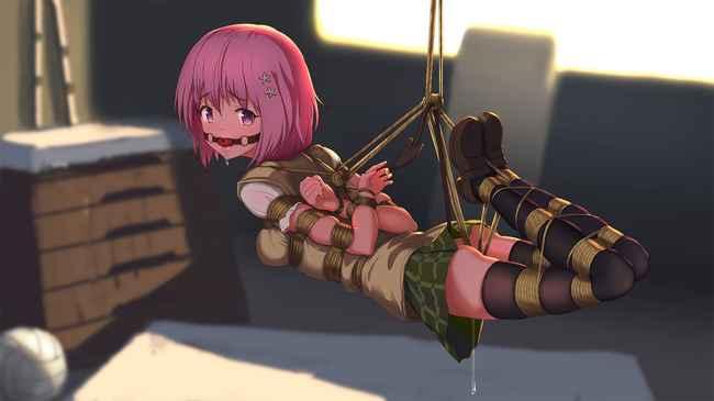 ・学生・緊縛・吊るし・ハード